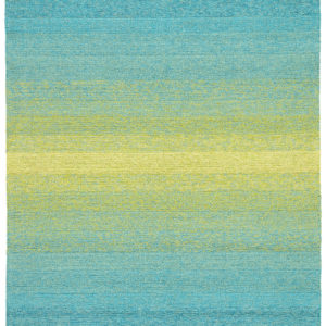 Jaipur Living Blaze Indoor/ Outdoor Ombre Blue/ Lime Green Area Rug (2'X3')