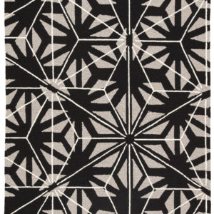 Jaipur Living Haige Indoor/ Outdoor Geometric Black/ Gray Area Rug (2'X3')