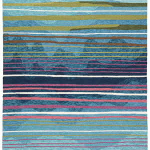 Lauren Wan by Jaipur Living Ketchum Indoor/ Outdoor Stripe Multicolor Area Rug (2'X3')