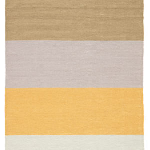 Jaipur Living Swane Indoor/ Outdoor Stripe Yellow/ Tan Area Rug (2'X3')