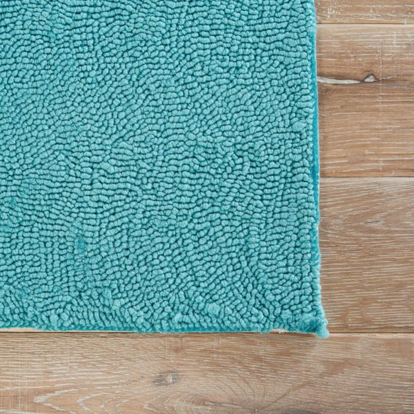 Jaipur Living Bough Out Indoor/ Outdoor Floral Teal/ Blue Area Rug (2'X3')