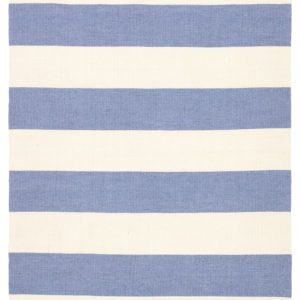 Jaipur Living Remora Indoor/ Outdoor Stripes Blue/ Ivory Area Rug (2'X3')