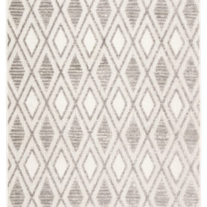 Jaipur Living Meira Indoor/ Outdoor Trellis Gray/ White Area Rug (2'X3')