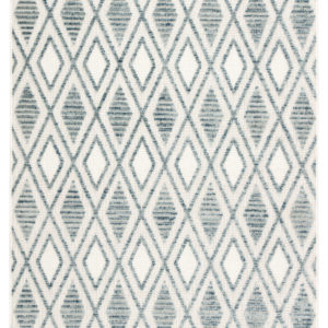 Jaipur Living Meira Indoor/ Outdoor Trellis Blue/ White Area Rug (2'X3')