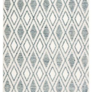 Jaipur Living Meira Indoor/ Outdoor Trellis Blue/ White Area Rug (2'X3')