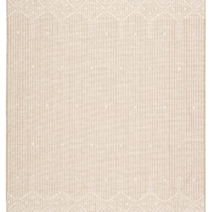 "Jaipur Living Belvidere Indoor/ Outdoor Borders Beige/ Cream Area Rug (2'X3'7"")"
