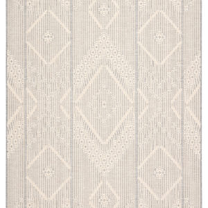 "Jaipur Living Shiloh Indoor/ Outdoor Tribal Gray/ Cream Area Rug (2'X3'7"")"