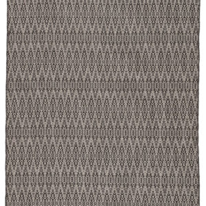 Jaipur Living Crover Indoor/ Outdoor Geometric Black/ Gray Area Rug (2'X3')