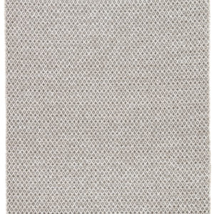 Jaipur Living Foster Indoor/ Outdoor Trellis Gray/ White Area Rug (2'X3')