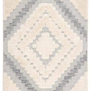 "Jaipur Living Sani Indoor/ Outdoor Geometric Gray/ Cream Area Rug (2'X3'7"")"