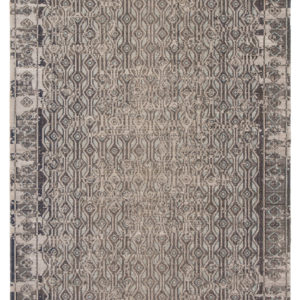 Jaipur Living Stowe Indoor/ Outdoor Geometric Gray/ Blue Area Rug (2'X3')
