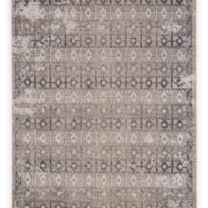 Jaipur Living Giralda Indoor/ Outdoor Trellis Gray/ Ivory Area Rug (2'X3')