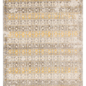 Jaipur Living Giralda Indoor/ Outdoor Trellis Light Gray/ Yellow Area Rug (2'X3')