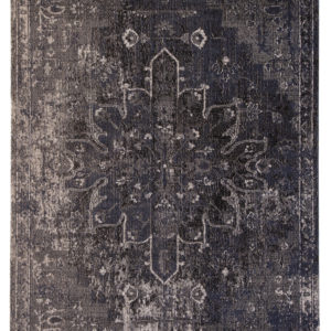 Jaipur Living Isolde Indoor/ Outdoor Medallion Blue/ Black Area Rug (2'X3')