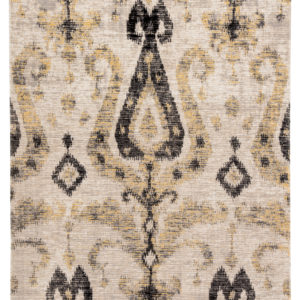 Jaipur Living Zenith Indoor/ Outdoor Ikat Gray/ Yellow Area Rug (2'X3')