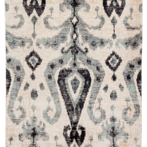 Jaipur Living Zenith Indoor/ Outdoor Ikat Blue/ Black Area Rug (2'X3')