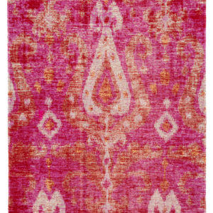 Jaipur Living Zenith Indoor/ Outdoor Ikat Pink/ Orange Area Rug (2'X3')
