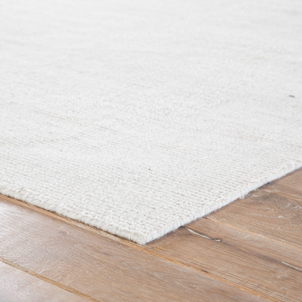 Jaipur Living Limon Indoor/ Outdoor Solid White Area Rug (2'X3')