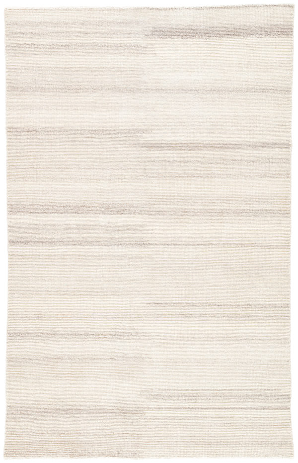 Jaipur Living Limon Indoor/ Outdoor Solid Cream/ Gray Area Rug (2'X3')