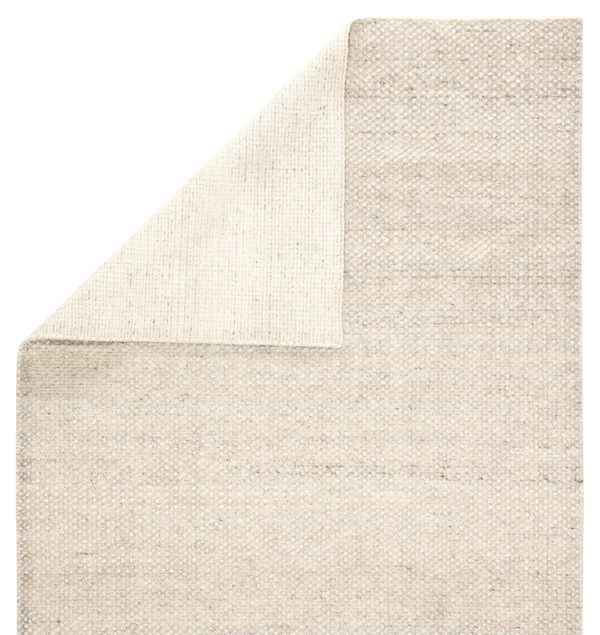 Jaipur Living Limon Indoor/ Outdoor Solid Ivory/ Gray Area Rug (2'X3')