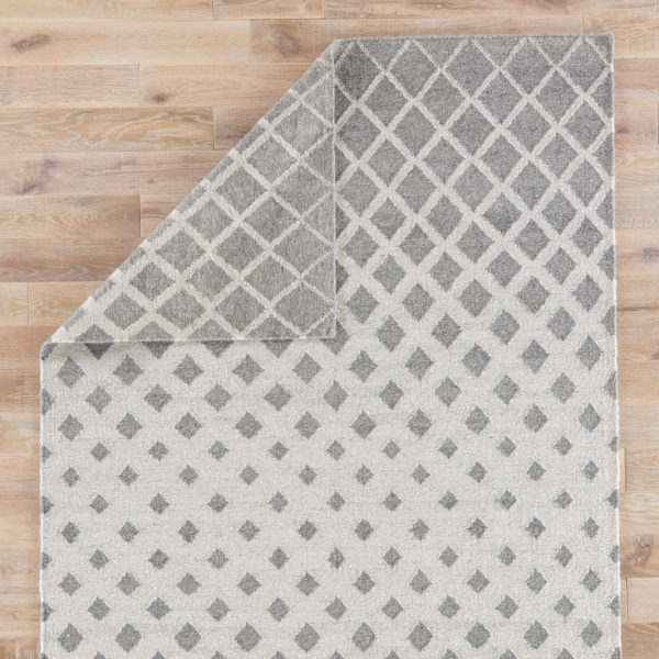 Jaipur Living Winipeg Indoor/ Outdoor Geometric Gray/ White Area Rug (2'X3')