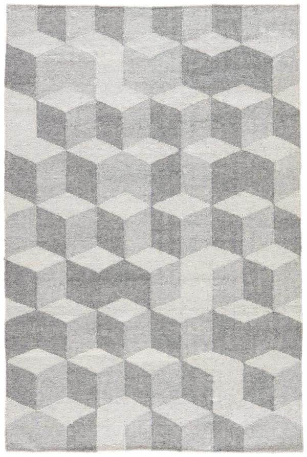 Jaipur Living Vista Indoor/ Outdoor Geometric Gray Area Rug (2'X3')