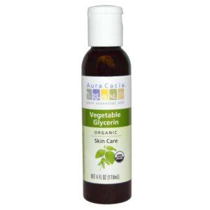 Aura Cacia Vegetable Glycerin (4 OZ)