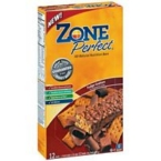 Zone Fudge Graham Nutrition Bar (12x1.76 Oz)