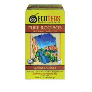 ECOTEAS Rooibos Tea Bags (6x24ct)