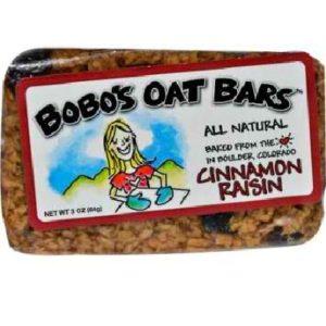 Bobo's Oat Bars All Natural Cinnamon Raisin Oat Bar (12x3 Oz)
