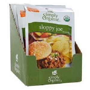Simply Organic Sloppy Joe (12x1.4 Oz)