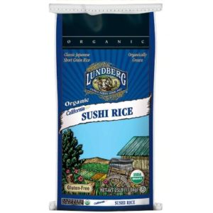 Lundberg Farms F514 White Short Sushi Rice (1x25lb)