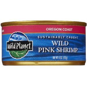 Wild Planet Wild Pink Shrimp (12x4 Oz)