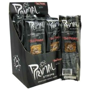 Primal Thai Peanut Meatless Jerky (24x1 Oz)