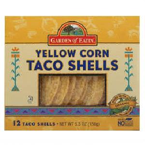 Garden Of Eatin' Yellow Corn Taco Shells (12x5.5 Oz)