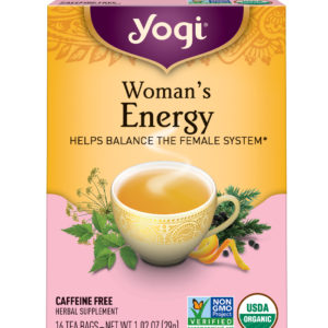 Yogi Woman's Energy Tea (6x16 Bag)