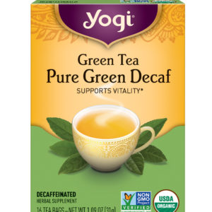 Yogi Simply Green Decaf Tea (6x16 Bag)