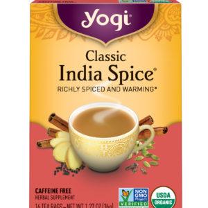Yogi Classic India Spice Tea (6x16 Bag)