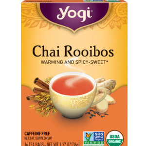 Yogi Redbush Chai Tea (6x16 Bag)