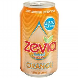 Zevia Natural Orange Diet Soda (4x6x12 Oz)