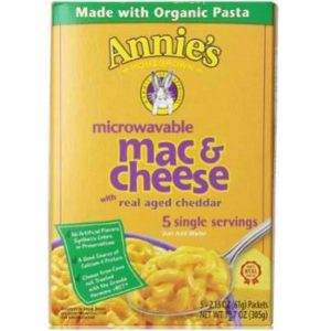 Annie's Homegrown Microwavable Wisconsin Macaroni & Cheese (6x10.7 Oz)