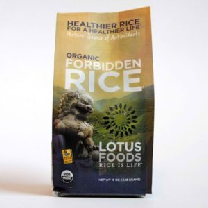 Lotus Foods Forbidden Black Rice (6x15 Oz)