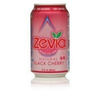 Zevia Natural Black Cherry Diet Soda (4x6x12 Oz)