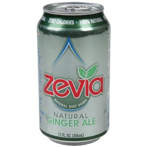 Zevia Natural Ginger Ale Diet Soda (4x6x12 Oz)