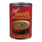 Amy's Kitchen Curried Lentil Soup (12x14.5 Oz)