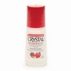 Crystal Essence Mineral Pomegranate Deodorant Roll-On (1x2.25 Oz)