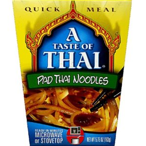 Taste Of Thai Pad Thai Quick Meal Noodles (6x5.75 Oz)