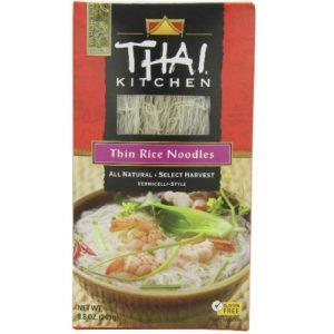 Thai Kitchen Thin Rice Noodles (12x8.8 Oz)