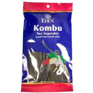 Eden Foods Sea vegetable Kombu (6x2.1 Oz)