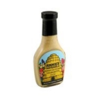 Annie's Naturals Honey Mustard Vinaigrette Low Fat (6x8 Oz)